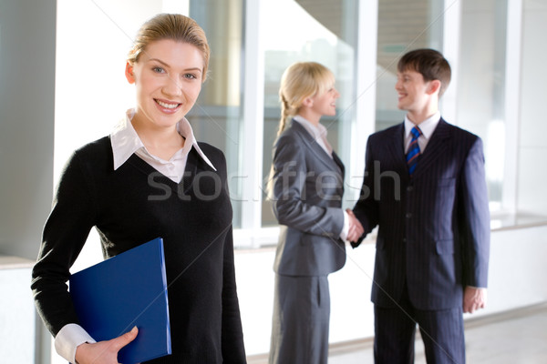 Beautiful employee  Stock photo © pressmaster