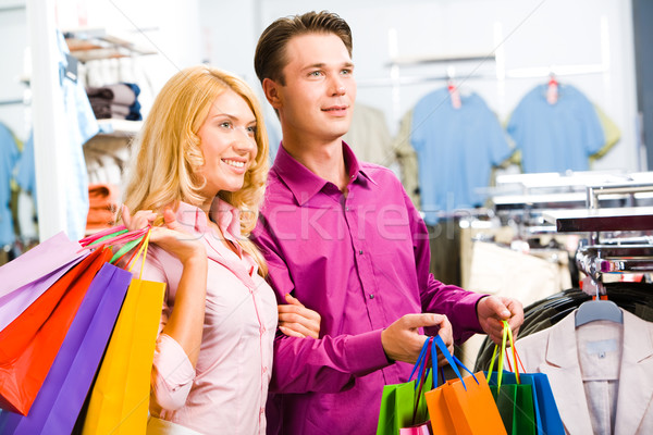 Shopping together Stock photo © pressmaster