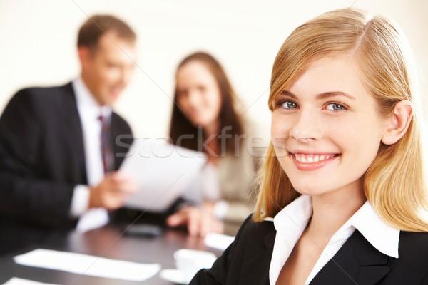 Сток-фото: довольно · лидера · портрет · успешный · бизнеса · Lady