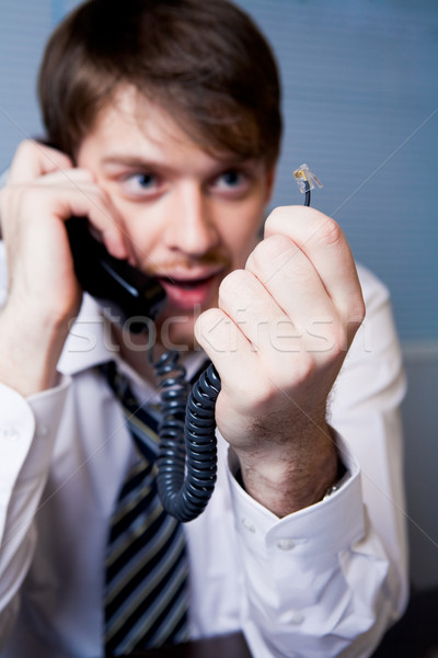 Stock photo: Technical problem