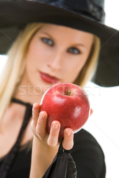 Woman giving apple Stock photo © pressmaster