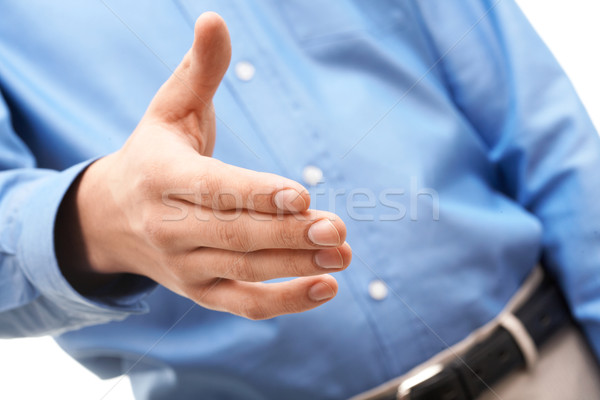 Extending the hand Stock photo © pressmaster