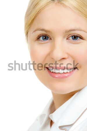 Blue-eyed blonde Stock photo © pressmaster