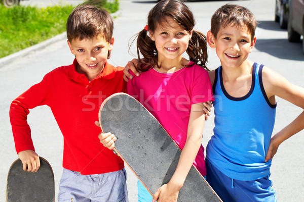 Young skaters  Stock photo © pressmaster