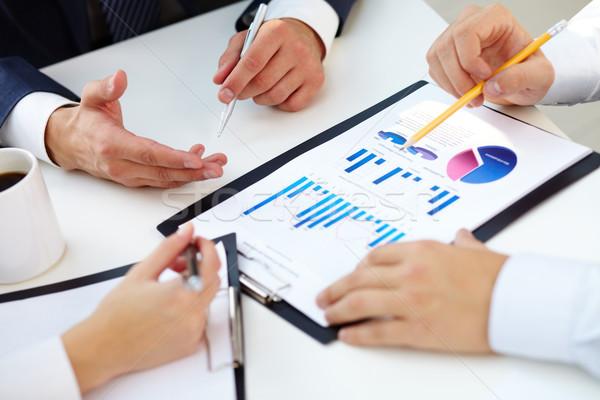 Charts and graphs  Stock photo © pressmaster