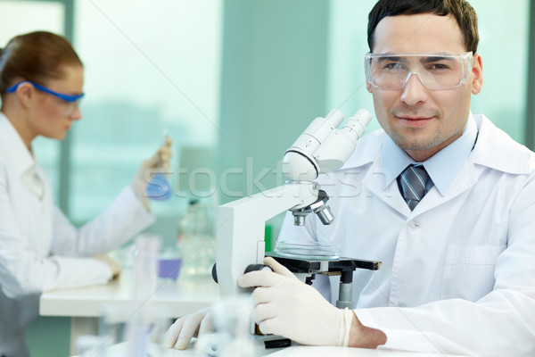 Experienced scientist Stock photo © pressmaster