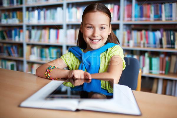 Elementary learner Stock photo © pressmaster