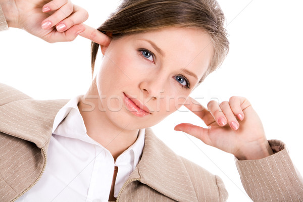 Annoyed female Stock photo © pressmaster