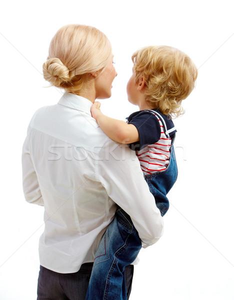 матери сын изображение довольно женщины Сток-фото © pressmaster