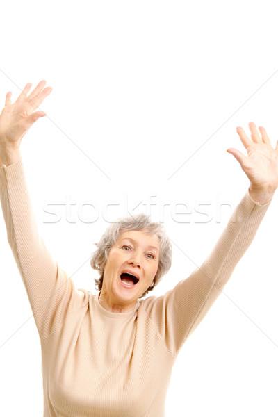 Aged female Stock photo © pressmaster