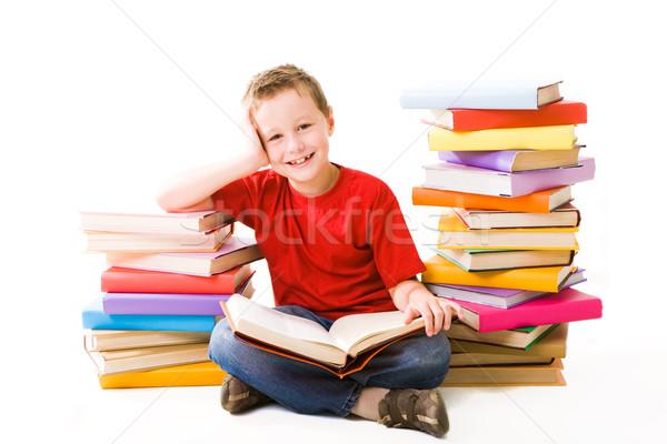 Reading boy Stock photo © pressmaster