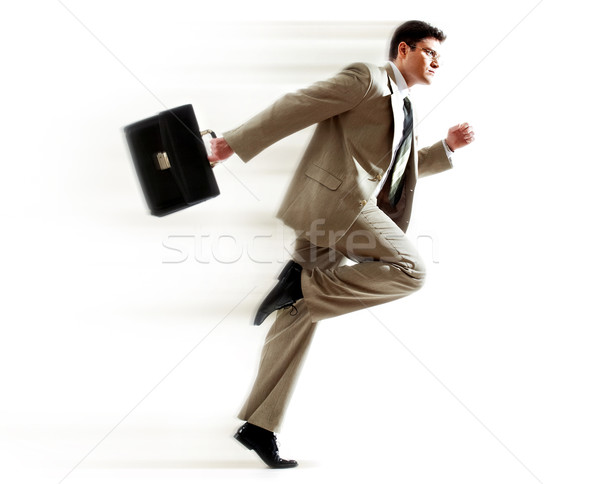 Hurrying boss Stock photo © pressmaster