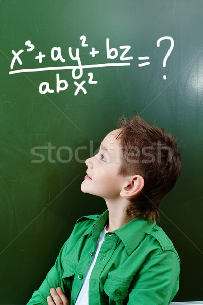 Mathematician Stock photo © pressmaster