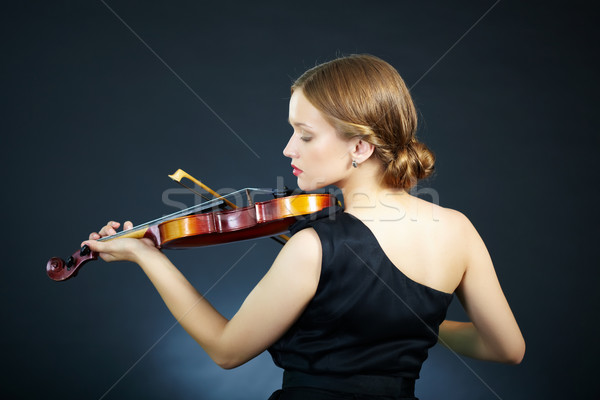 Beautiful performer Stock photo © pressmaster