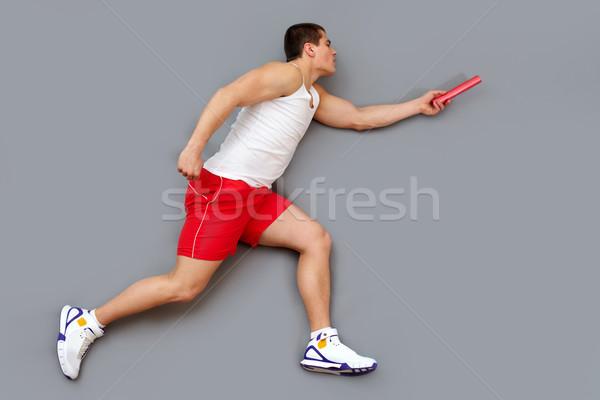 Passing the baton Stock photo © pressmaster