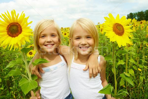 Stock photo: Happy girls