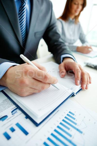 Stockfoto: Werknemer · verticaal · shot · zakenlieden