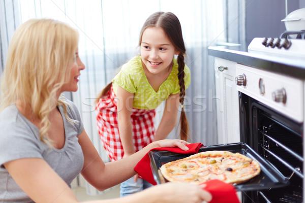 Cooking dinner Stock photo © pressmaster
