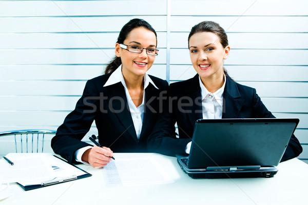 Business ladies at work Stock photo © pressmaster