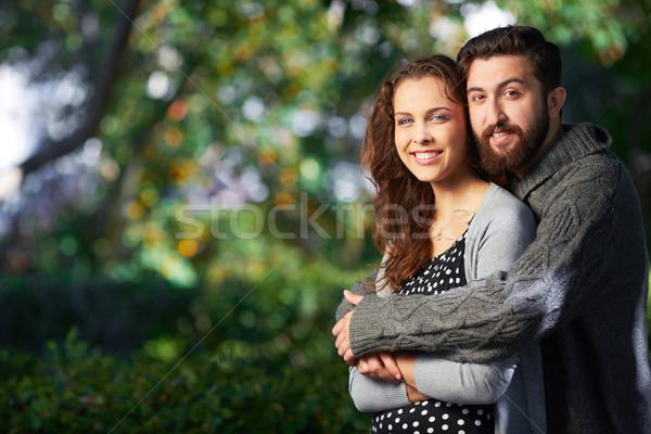 Affectionate lovers Stock photo © pressmaster