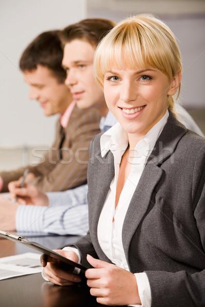 Happy consultant Stock photo © pressmaster