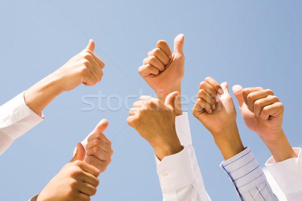 Photo stock: Image · plusieurs · humaine · mains