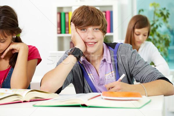Students at lesson Stock photo © pressmaster