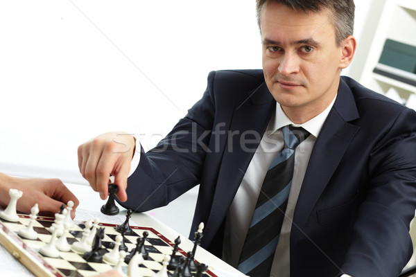 Chessman Stock photo © pressmaster
