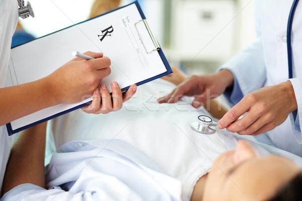 Сток-фото: медицинской · лечение · женщины · врачи · пациент