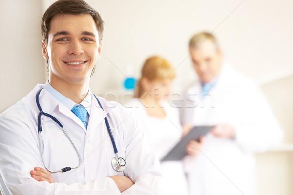 Therapeutist Stock photo © pressmaster
