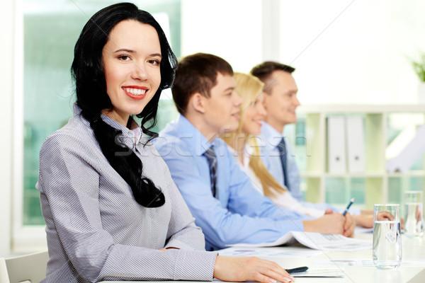 Seminar participants Stock photo © pressmaster