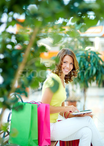 Shopping communication Stock photo © pressmaster