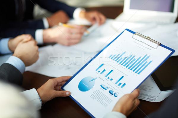 Making business analysis Stock photo © pressmaster