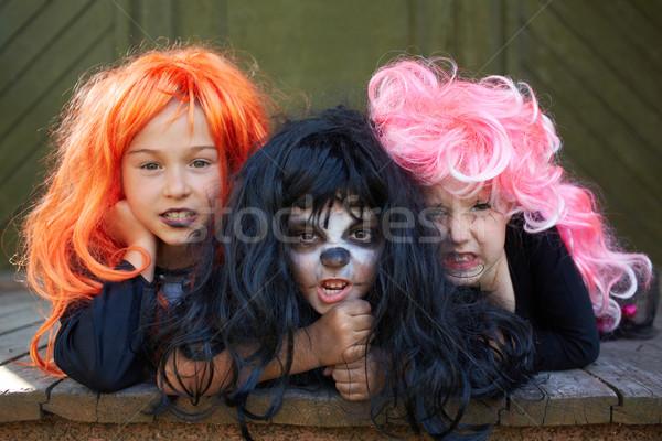 Dreadful friends Stock photo © pressmaster