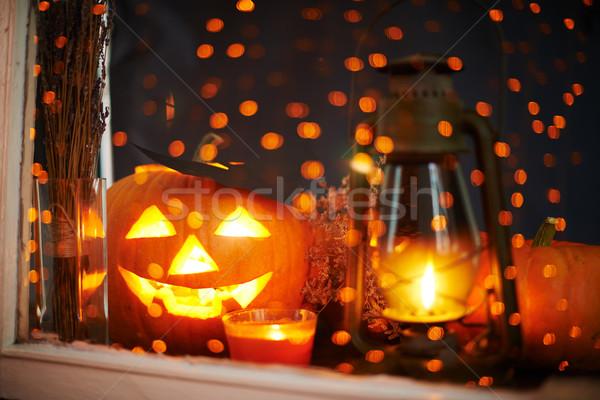 Jack-o-lantern Stock photo © pressmaster