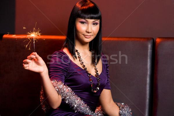 Sparkling woman Stock photo © pressmaster