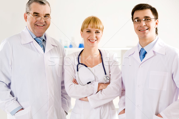 Stock photo: Clinicians