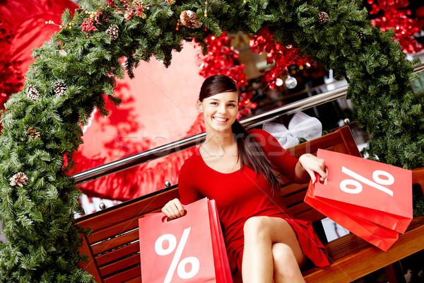 Christmas sale Stock photo © pressmaster