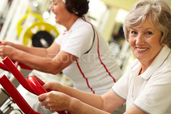 Active grandmas  Stock photo © pressmaster