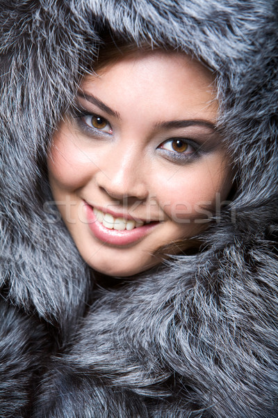 Furry lady Stock photo © pressmaster