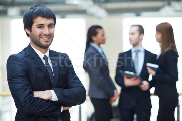 Smart boss ritratto amichevole maschio leader Foto d'archivio © pressmaster