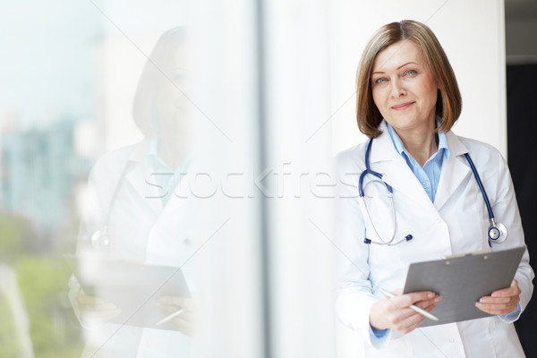 Friendly practitioner Stock photo © pressmaster