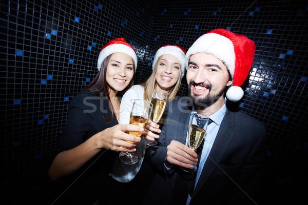 Christmas cheers Stock photo © pressmaster