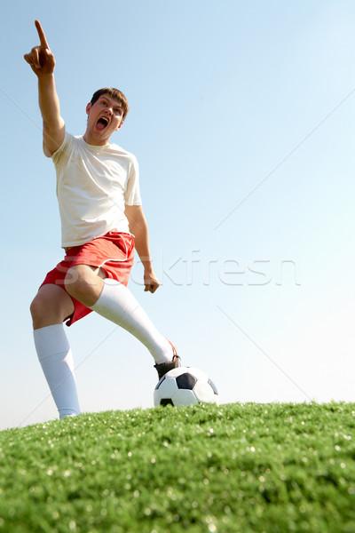 Photo stock: Jeu · image · footballeur · football · sport