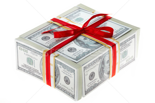 Money gift Stock photo © pressmaster