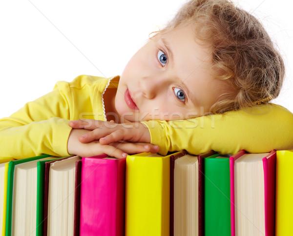 Fond of reading  Stock photo © pressmaster