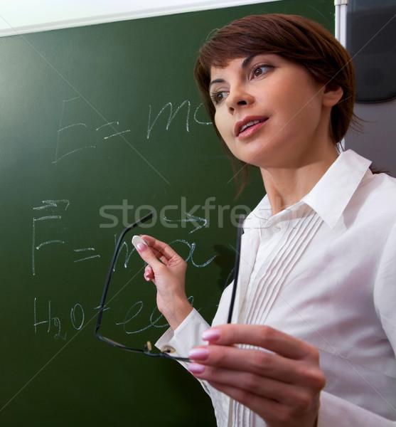 Lecturer Stock photo © pressmaster