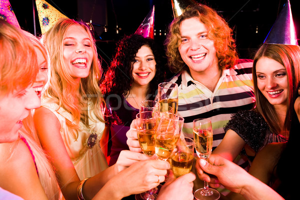 Party cheers Stock photo © pressmaster