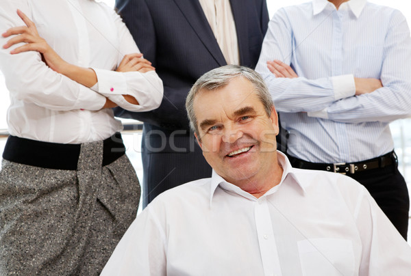 Senior boss Stock photo © pressmaster