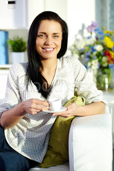 Morning tea Stock photo © pressmaster